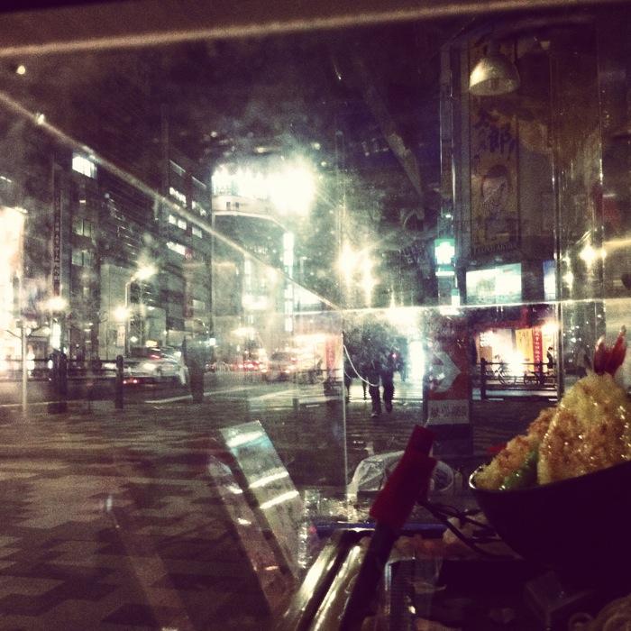 天丼は夜の街に何を見るか